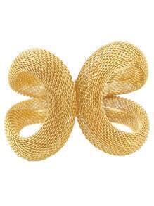 Gold Winding Hollow Bracelet