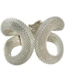 Silver Winding Hollow Bracelet