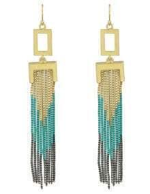 Fashion Tassel Design Chains Earrings