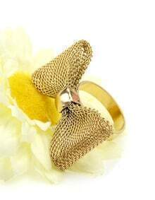 Fashion Gold Bow Ring