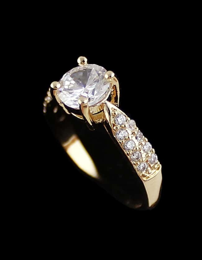 Fashion Gold Diamond Ring