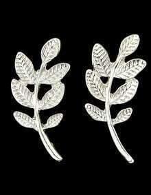 Cheap Style Alloy Simple Leaf Earrings