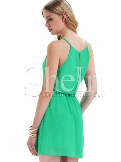 Green Aqua Off the Shoulder Back Split Dress
