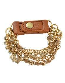 Punk Style Multilayer Chain Bracelet