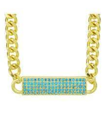 Latest Gold Plated Chunky Chain Fashion Jewelry Necklace