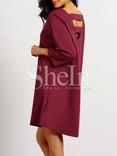 http://www.shein.com/Burgundy-Round-Neck-Casual-Dress-p-242272-cat-1727.html?aff_id=1285