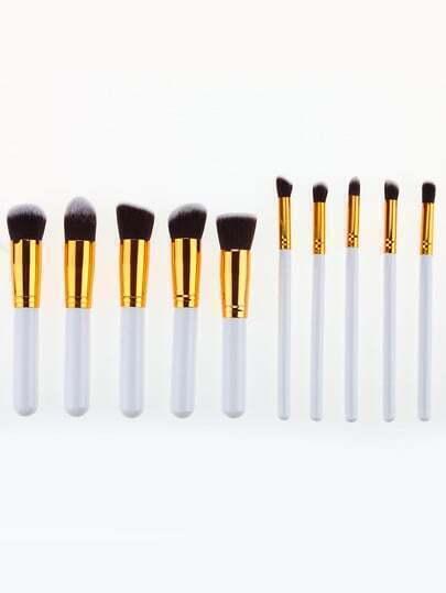 Premium Synthetic Kabuki Makeup Brush Set Cosmetics Foundation Blending Blush