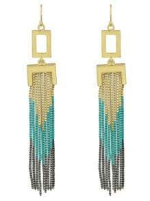 Tassel Chains Long Earrings