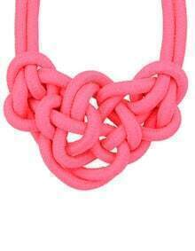 Rose Twine Elastic Necklace
