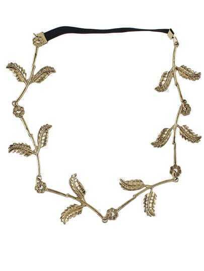 Gold Leaves Hair Accessories