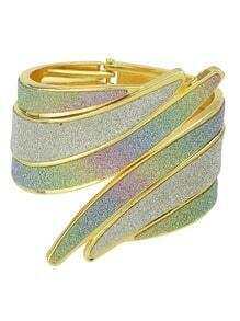 Gold Wing Cuff Bracelet
