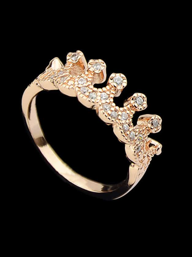 gold crown ring shein sheinside