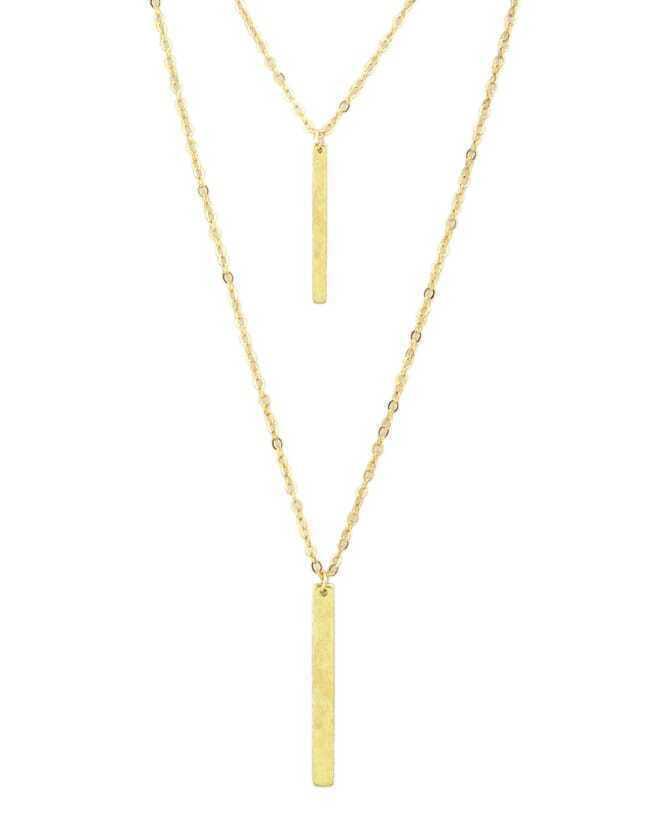 Фото Gold Double Layels Chain Necklace. Купить с доставкой