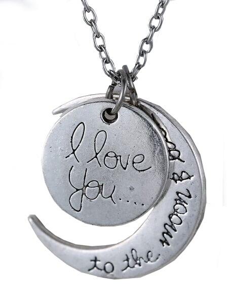 Фото Sun Moon Pendant Necklace. Купить с доставкой
