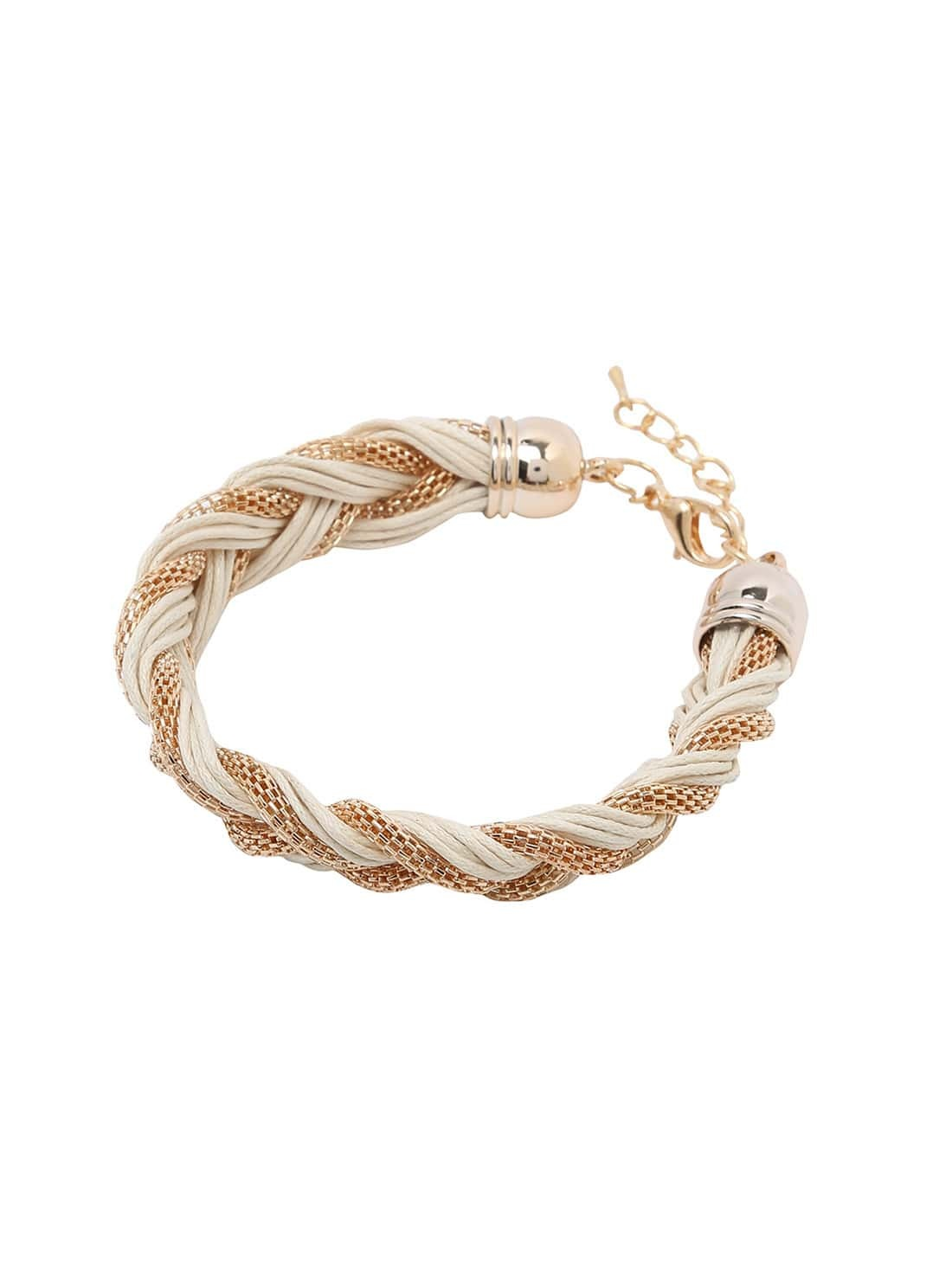 braided string bracelets - photo #10