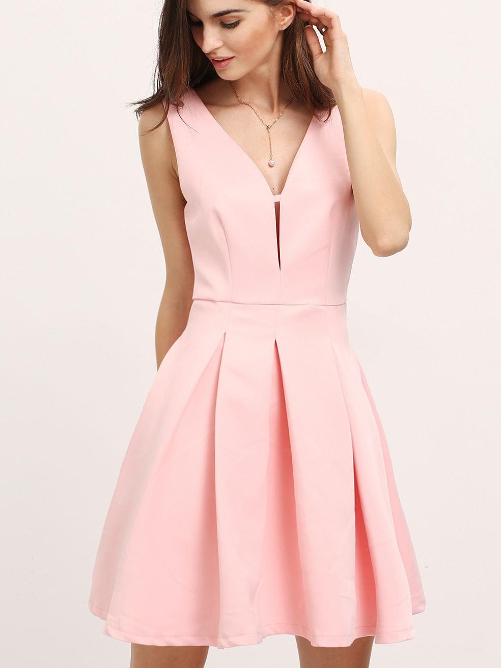 30ecb1c9a vestido vuelo rosa