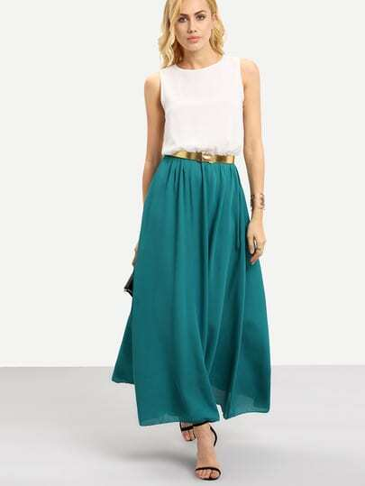 Belt for maxi dress