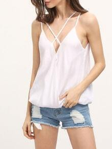 Crisscross Back Cami Top