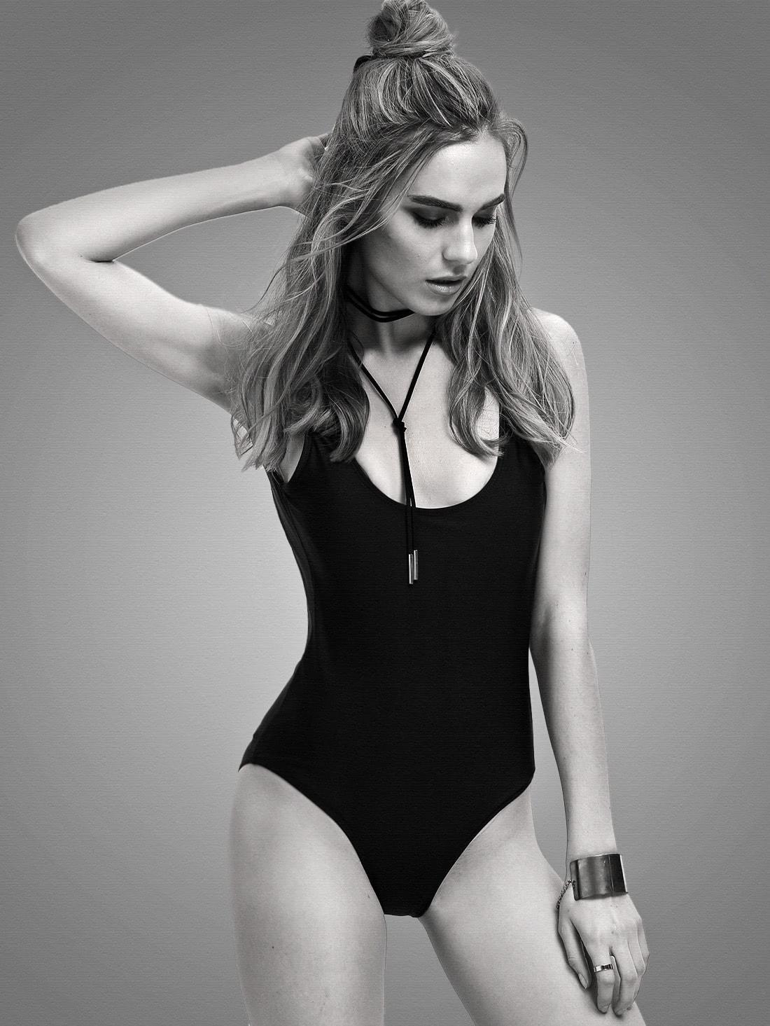 Купить со скидкой Backless One Piece Swimsuit