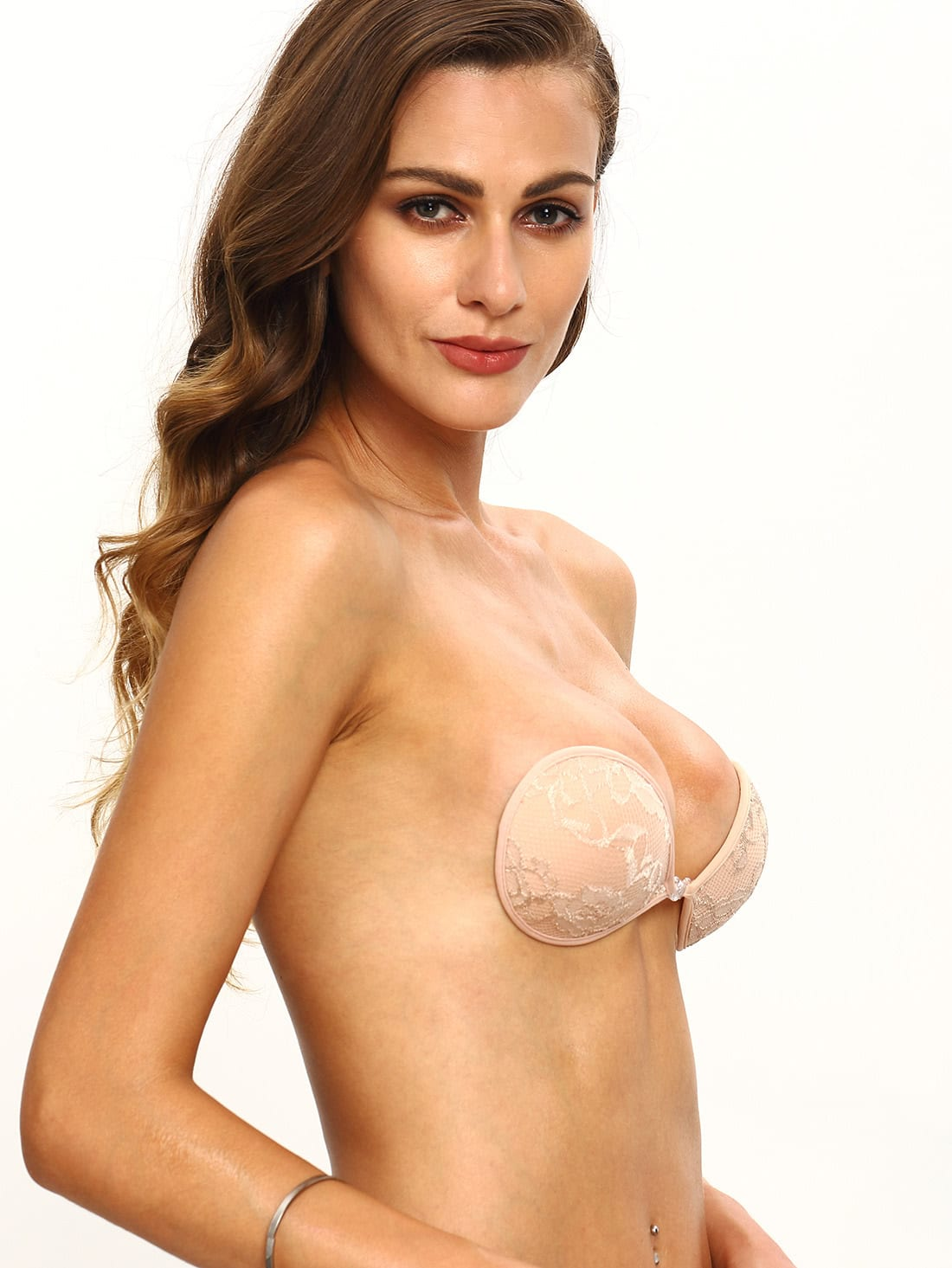 Фото Lace Invisible Stick On Bra. Купить с доставкой