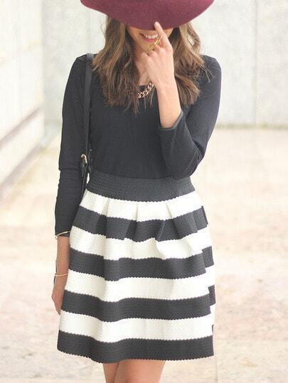 Shop Black White Striped Three Quarter Length Sleeve Stripe Dress online. SheIn offers Black White Striped Three Quarter Length Sleeve Stripe Dress & more to fit your fashionable needs. International Site. USD. USD EUR CAD CHF GBP.