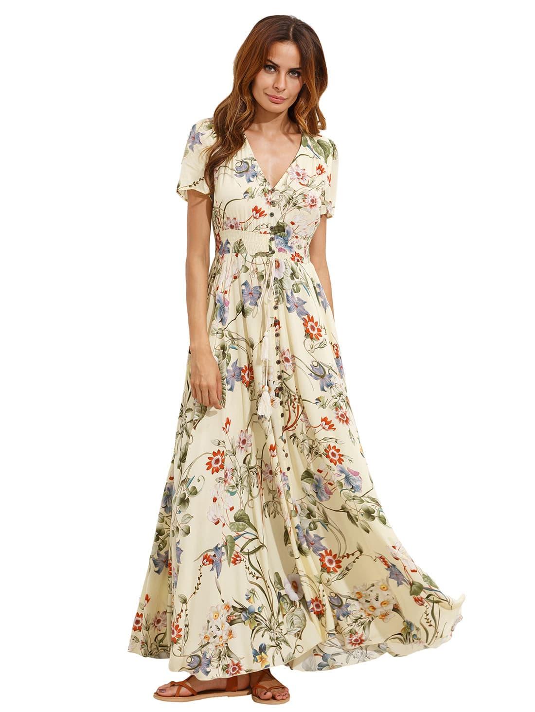 Фото Shirt Waist Full Length Dress. Купить с доставкой