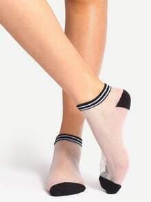 Comfortable Transparent Ankle Socks