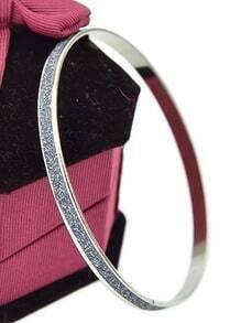 Bracelet design de mode -argenté