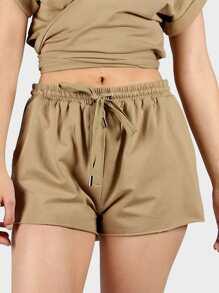 Shorts avec un lacet