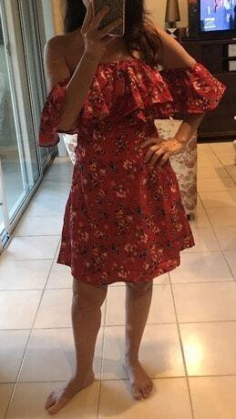 cold shoulder lace up front dress sheinsheinside