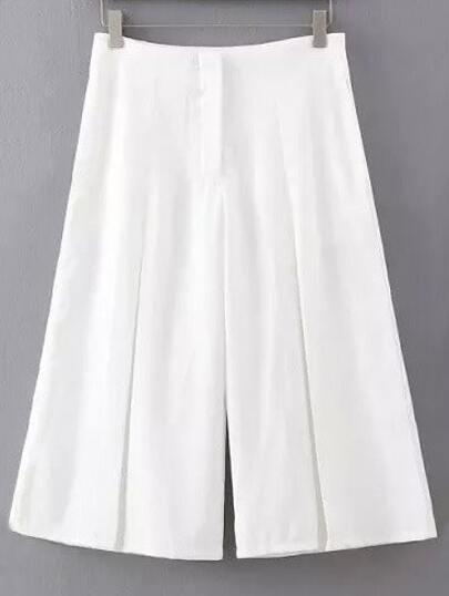 pantalon vintage gros -blanc