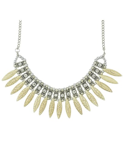 Gold Bead Diamond Chain Necklace