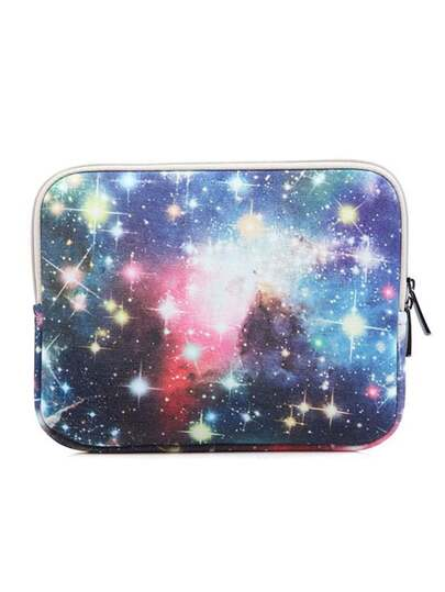 "8.3"" Galaxy Print Laptop Bag"