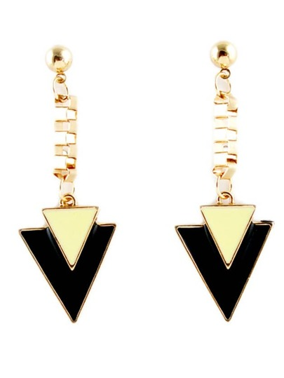Popular Individual Triangle Punk Drop Earring
