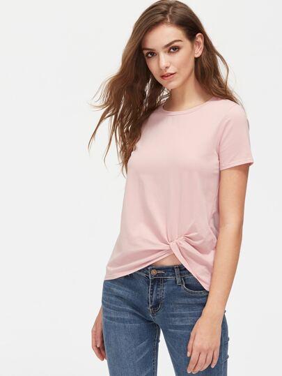 Twist Front T-shirt