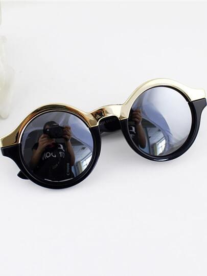 lunettes de soleil design à la mode -Noir