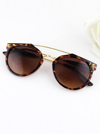 Frames Wrap Resin Sunglasses