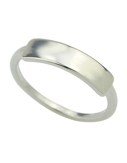 Silver Simple Women Ring
