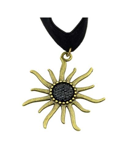 Gothic Punk Style Black Velvet Women Collar Choker Necklace