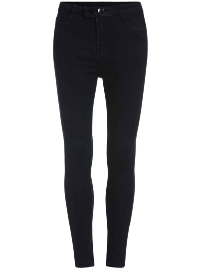 Pockets Denim Tight Pant