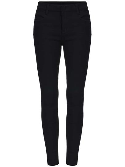 Black Skinny Elastic Pant
