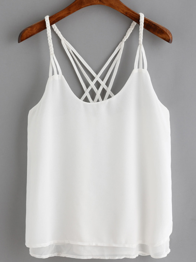 Crossover Loose Cami Top