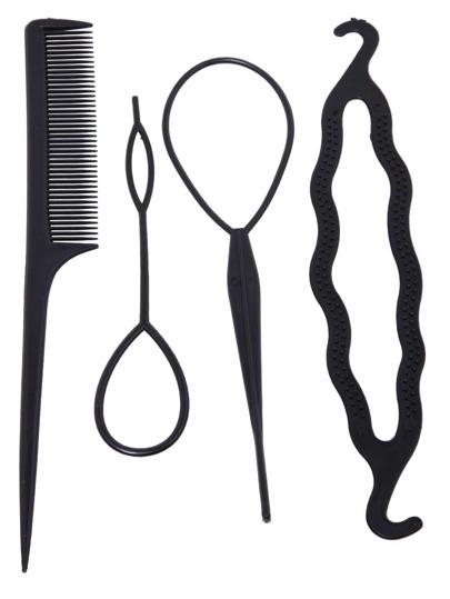 strumento di parrucchiere nero