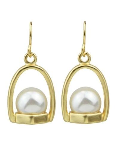 Pearl Small Ball Drop Earrings