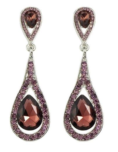 Winered Elegant Long Drop Earrings