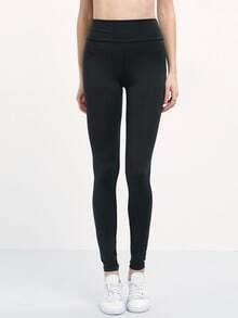 Elastic Waist Slim Leggings