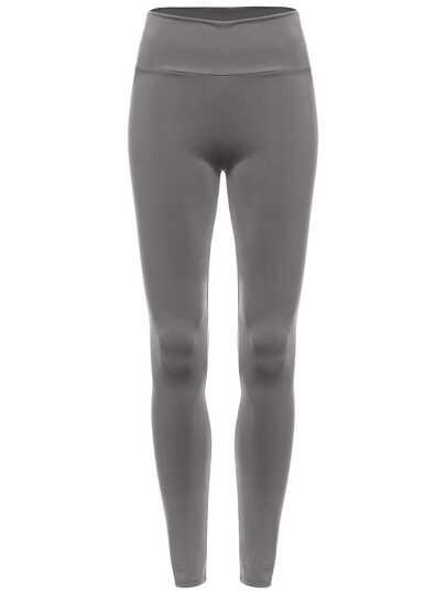 Leggings mit schmal elastischemBund -grau