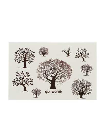 Tree Pattern Tattoo