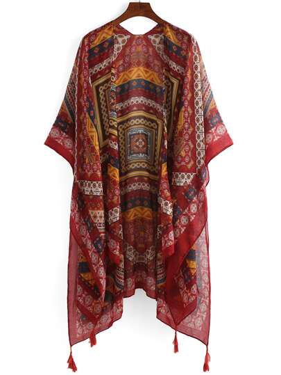 Kimono flecos nacional