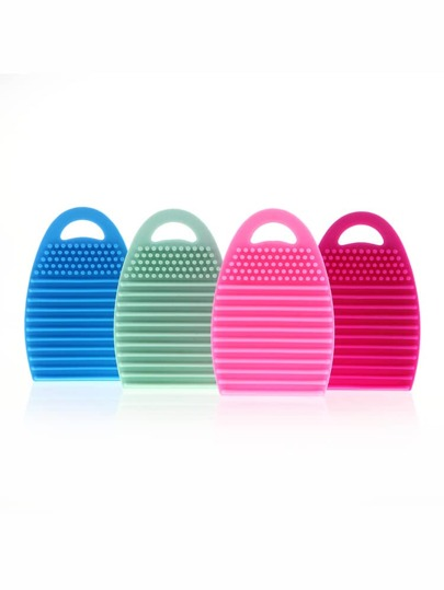 Silicone Facial Cleansing Brush - 1PCS Random Color